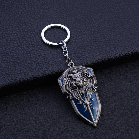 Lion Keychain Antique