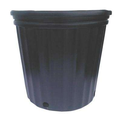Pots- Grower black plastic pots