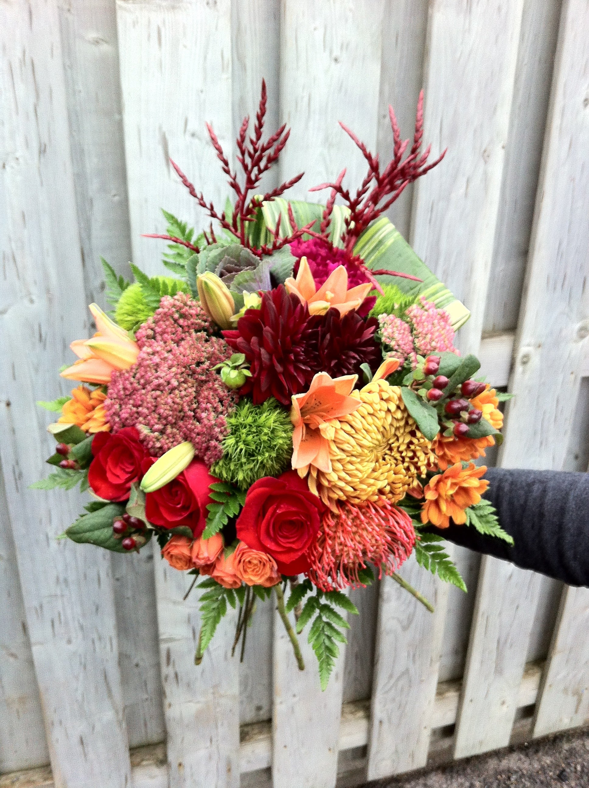 Hand-Tied Market Bouquet