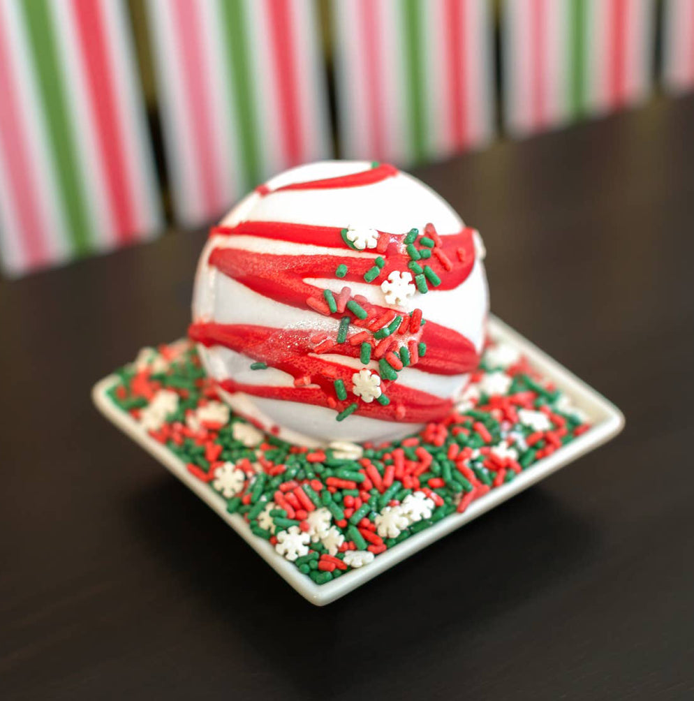 """Mrs. Claus' Cookies"" Bath Bomb"""