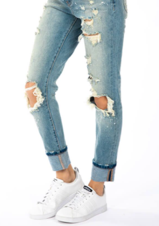 Your Favorite Pair of Boyfriend Distressed Jeans