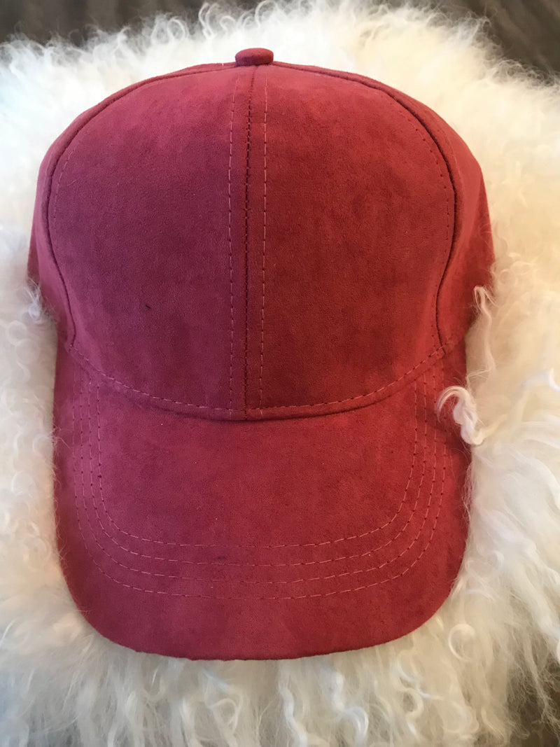 ULTRA SUEDE Baseball Hat