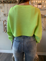 Party All Night Cropped Sweater
