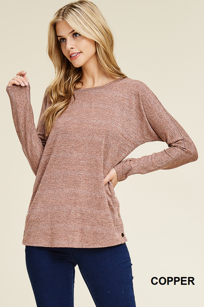 Love It Or Leave It Knit Top