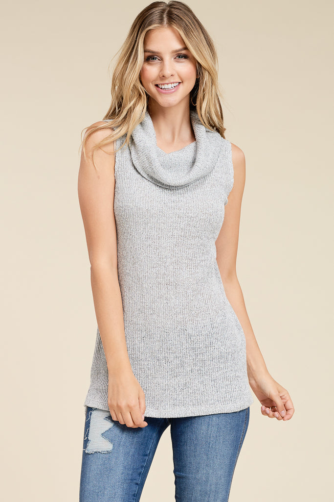 Sleeveless Knit Tank