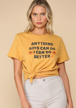 """Anything Boys Can Do"" Graphic Tee"