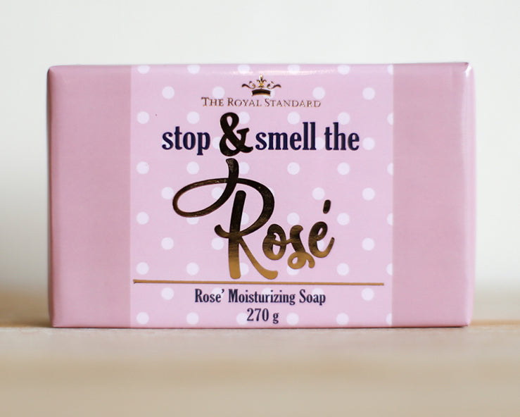 Stop & Smell the Rose' Soap