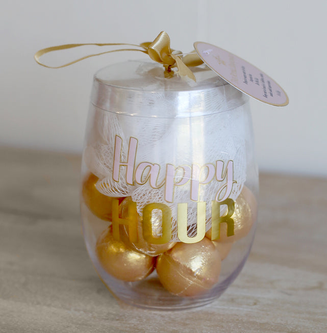 Hour Hour Gift Bath Bomb Glass