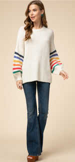 Colorful World Sweater