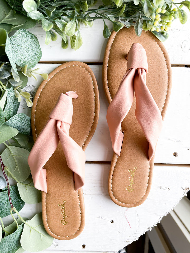 Pretty In Pink Sandal