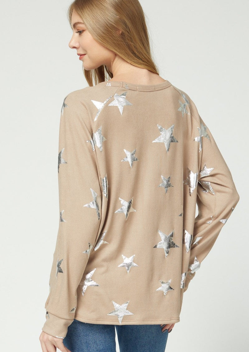 silver star top