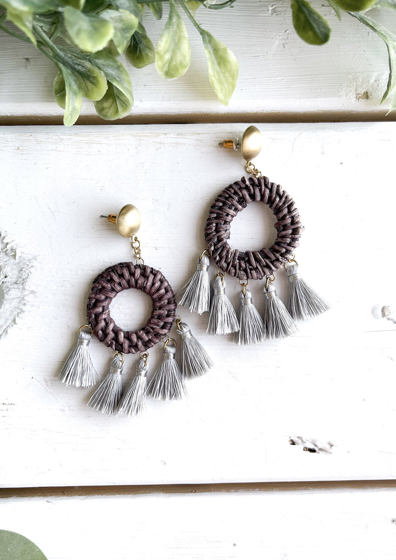 Twine Hoop Earrings