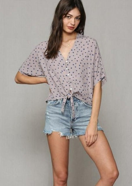 Polka Dot Party Top