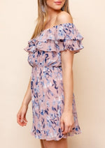 Love On Chiffon Mini Dress
