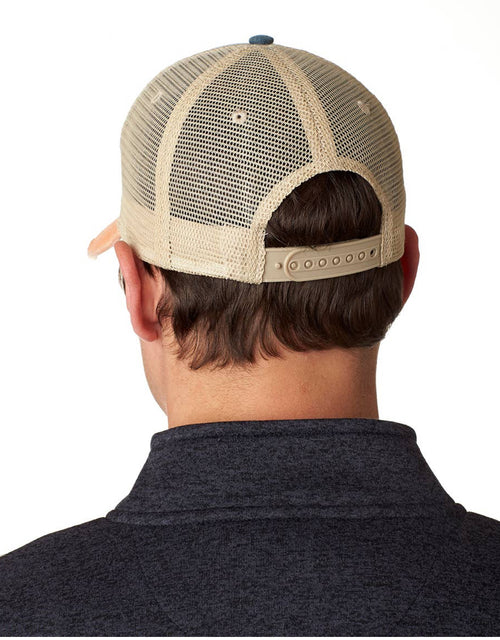 MN Patched Arrow Compass Distressed Trucker