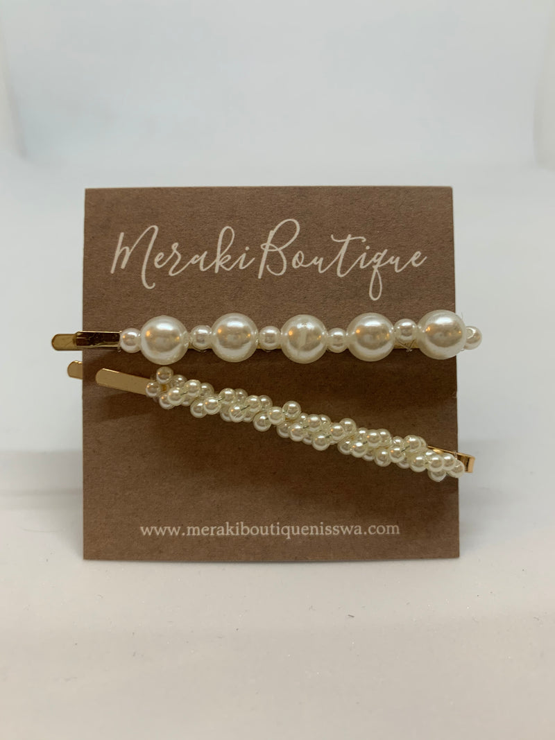 Bubbles of Pearls Hair Pin