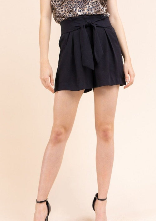 Keepin' It Classy Front Tie Shorts