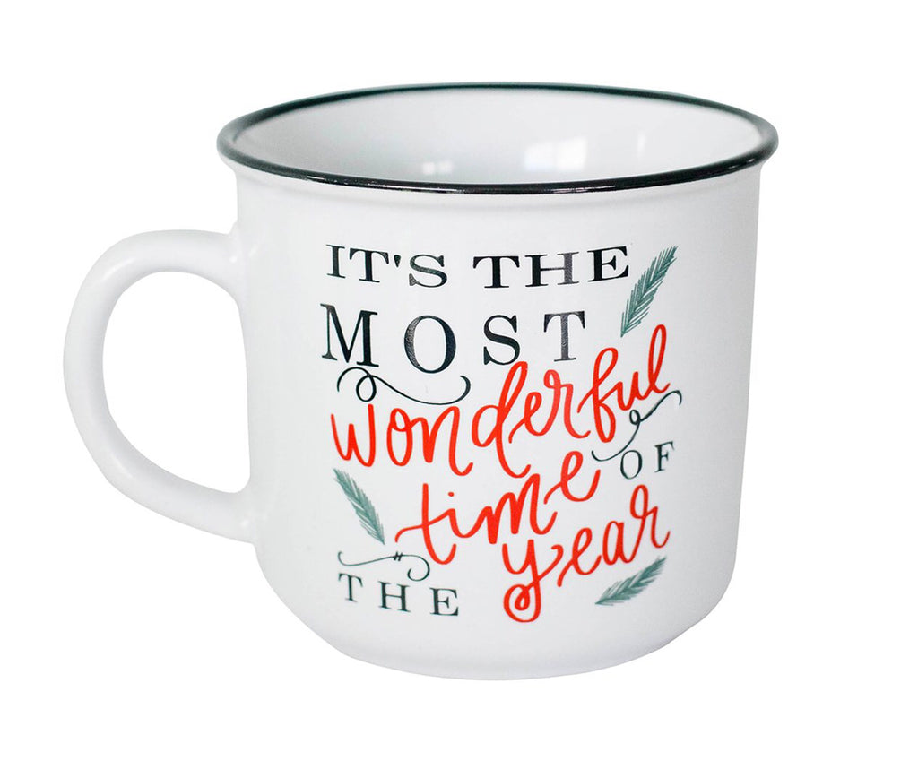 """Most Wonderful Time of the Year"" Campfire Mug"