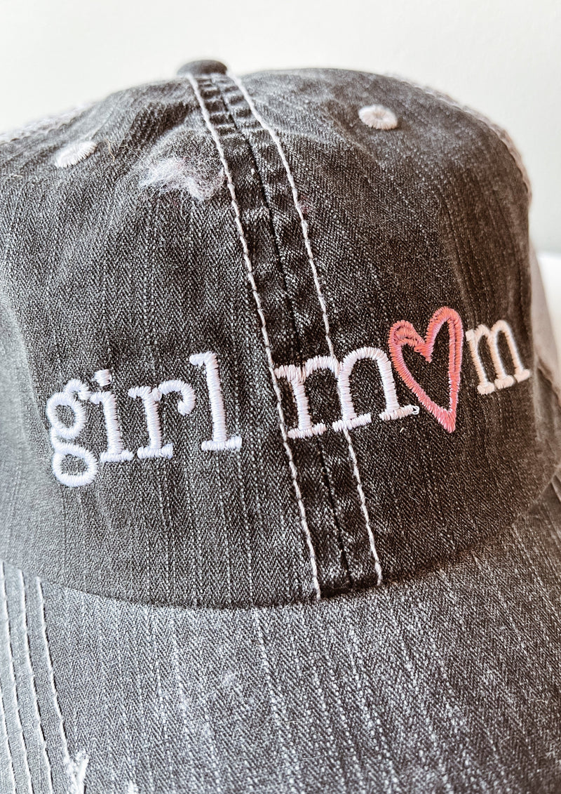 """Girl Mom"" Hat"