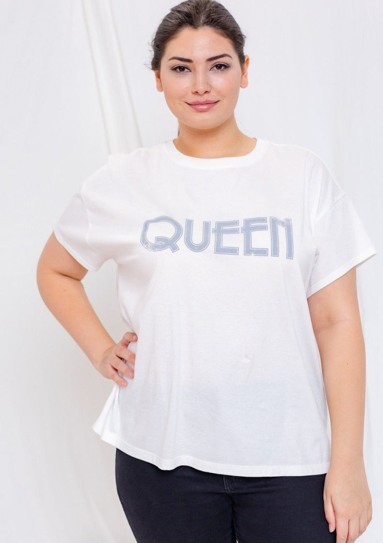 Queen Graphic Tee (Plus Size)