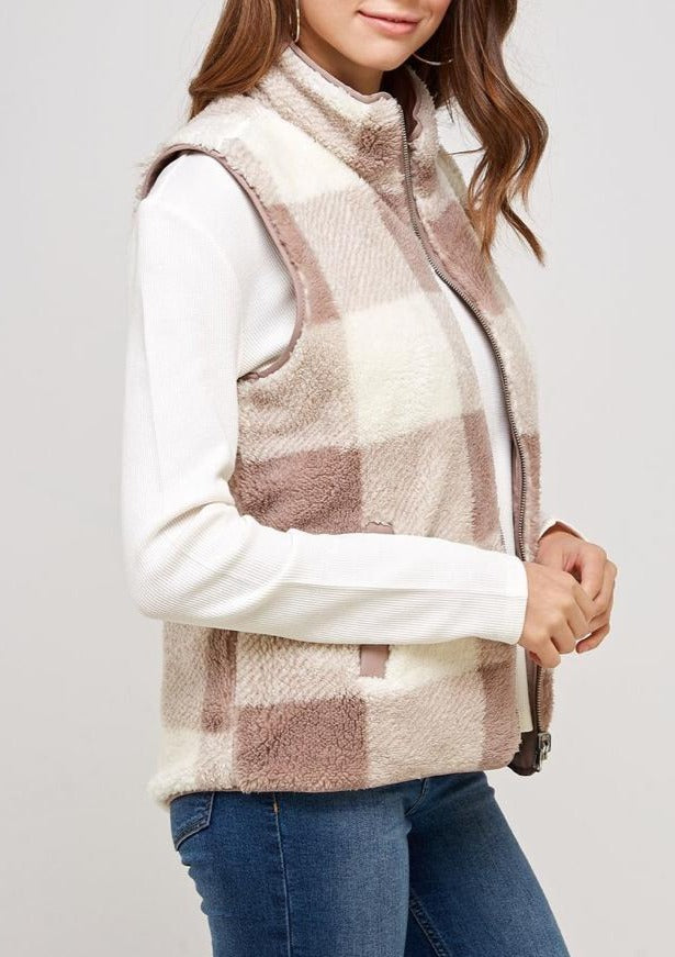 Hit the Slopes Reversable Vest