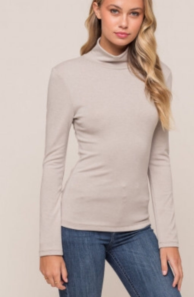 Neutral Turtle Neck