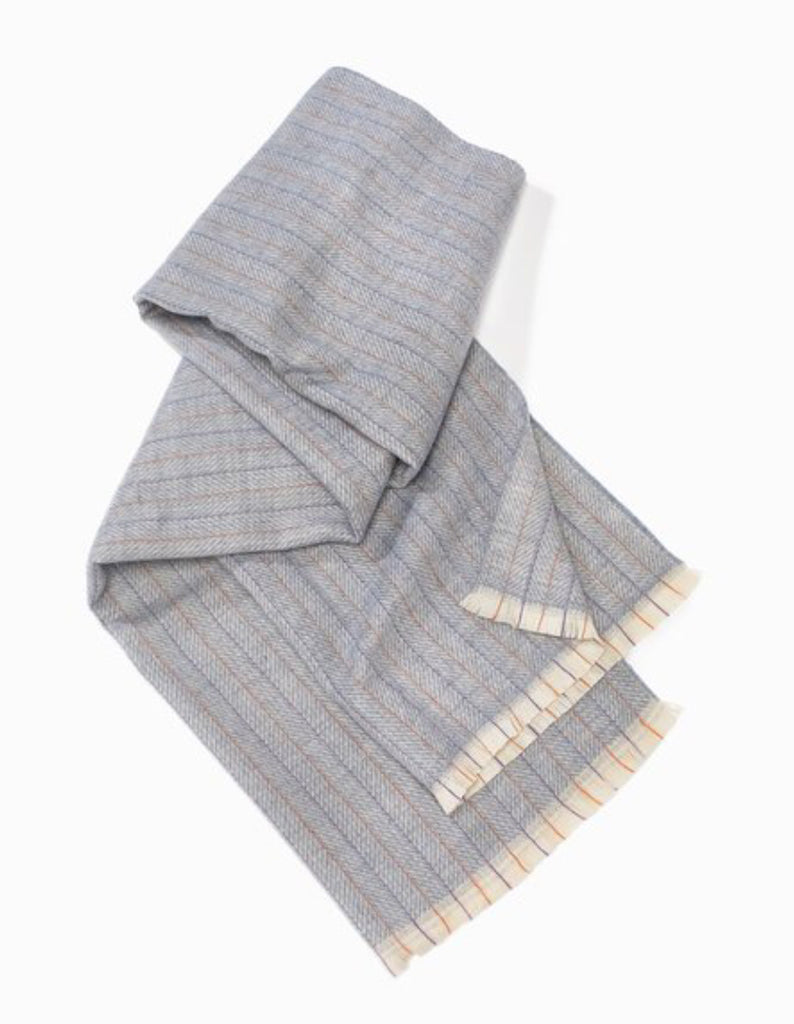 Herringbone Striped Scarf