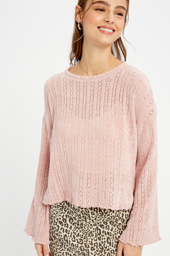 Mixed Thoughts Knit Sweater