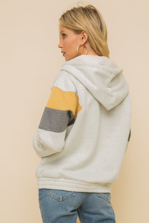 Color Me Blocked Hoodie