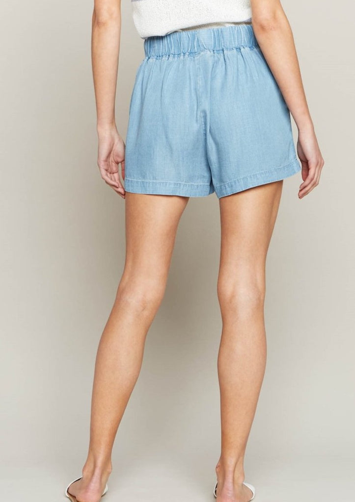 Forever Young Tencel Shorts