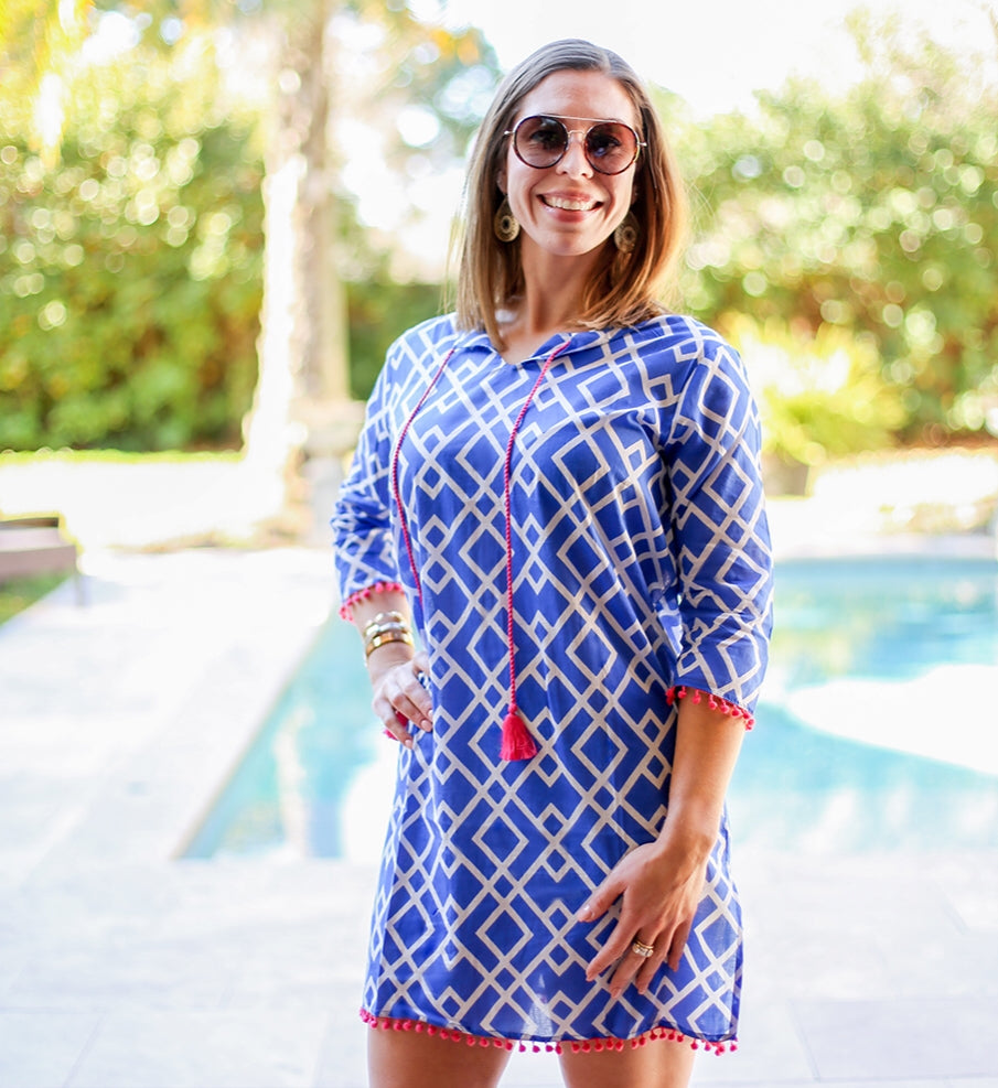 Delray Tunic Cover Up