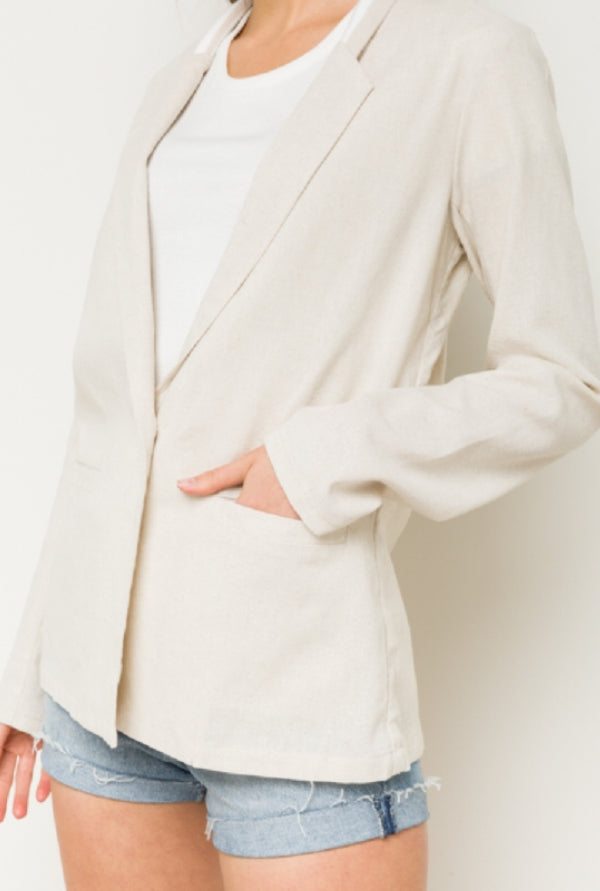 Suit Up Blended Blazer