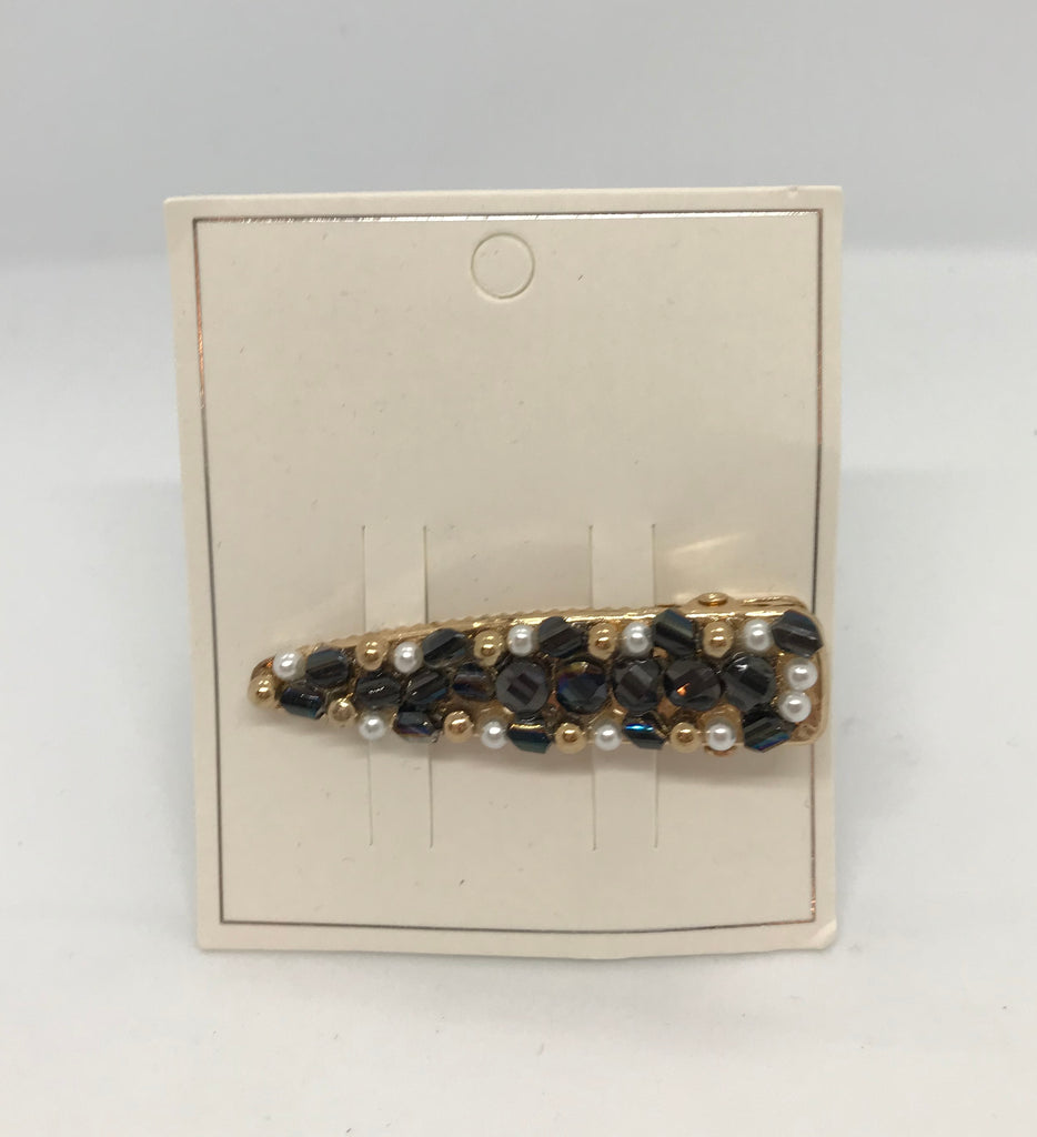 Beaded Hair Clip