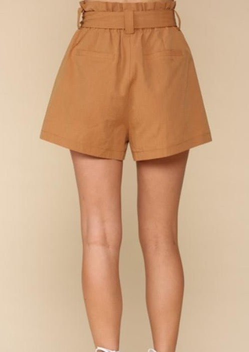 Staying Out Tencel Shorts