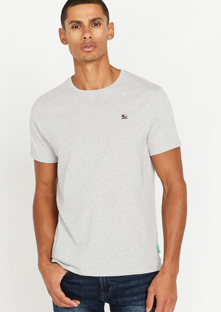 Short Sleeve Crew Neck Tee Grey