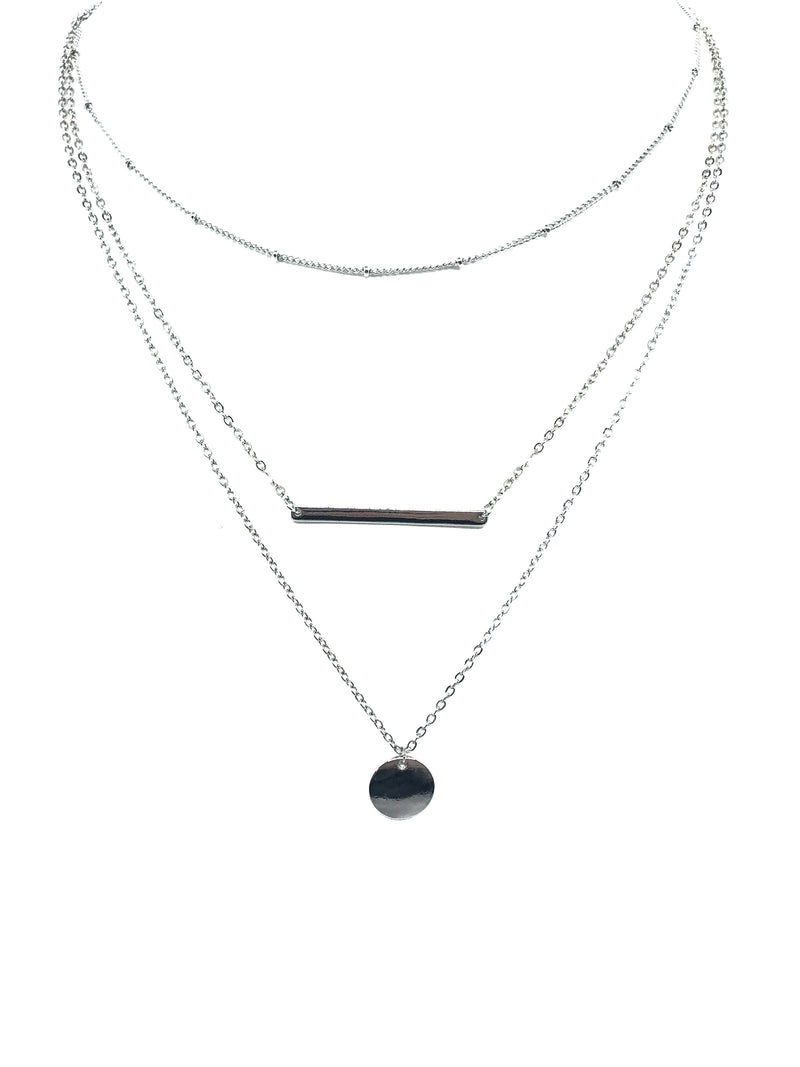 The Melanie Triple Layer Necklace