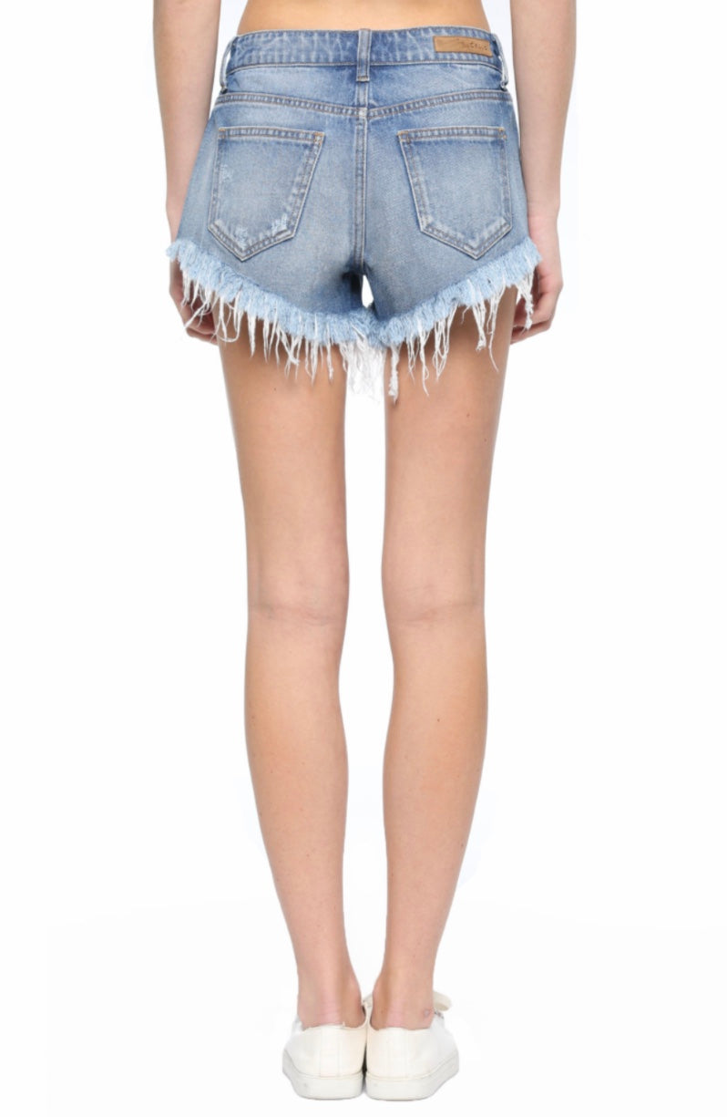 Good On My Own Frayed Shorts