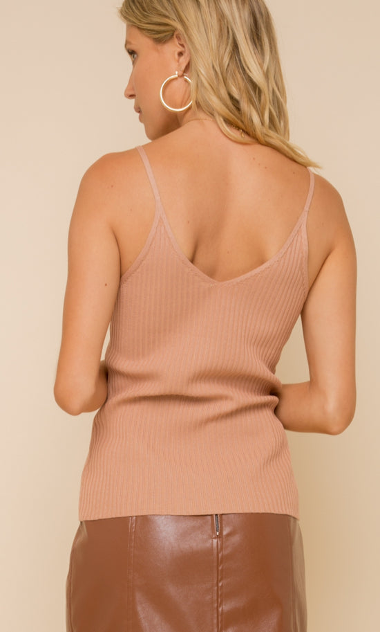 Sophisticated Sweetheart Sweater Tank