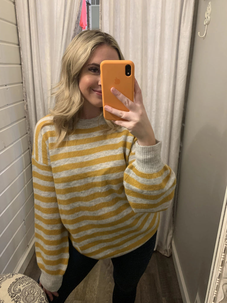 Sail Away Striped Sweater
