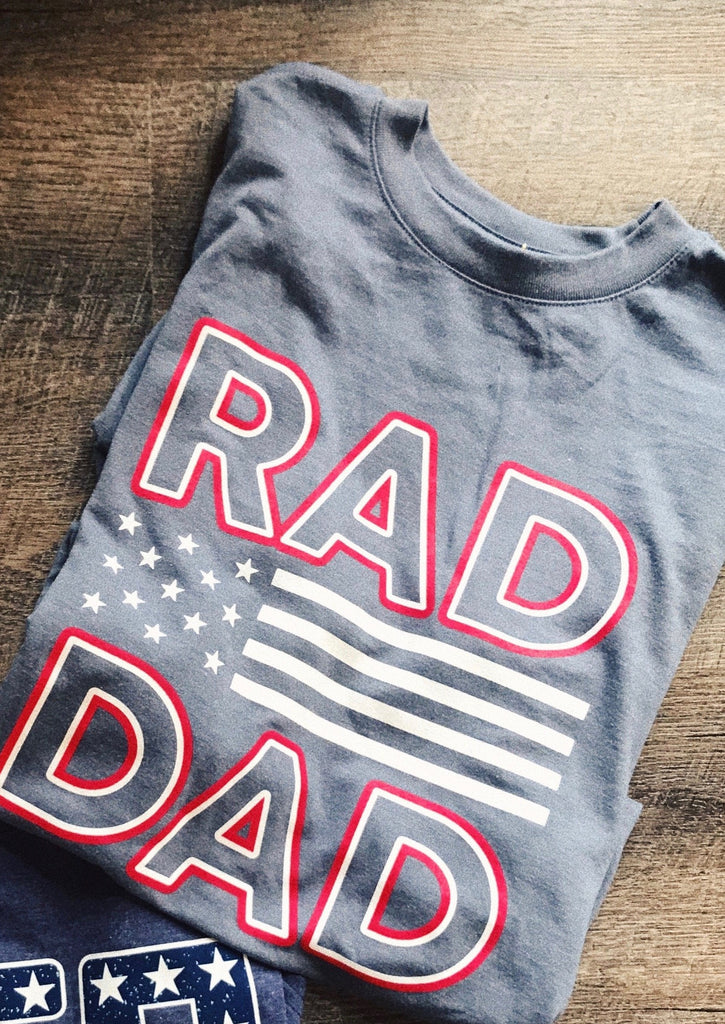 Rad Dad Short Sleeve T-shirt