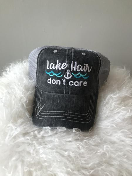 """Lake Hair Don't Care"" Hat"