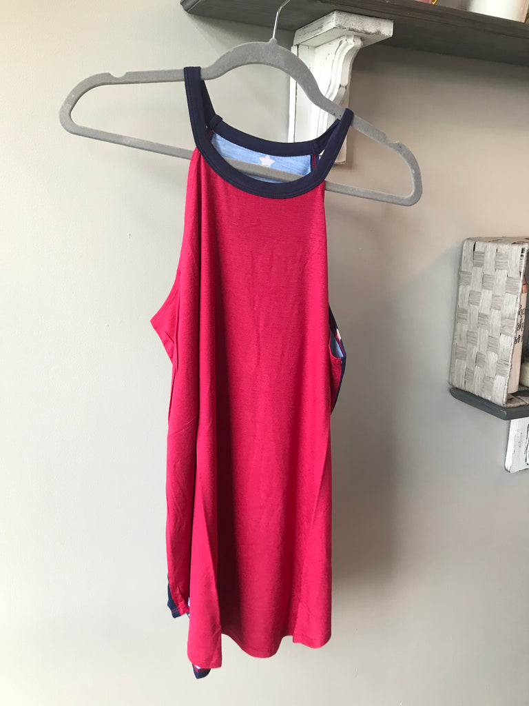 STAR HIGH NECK TANK