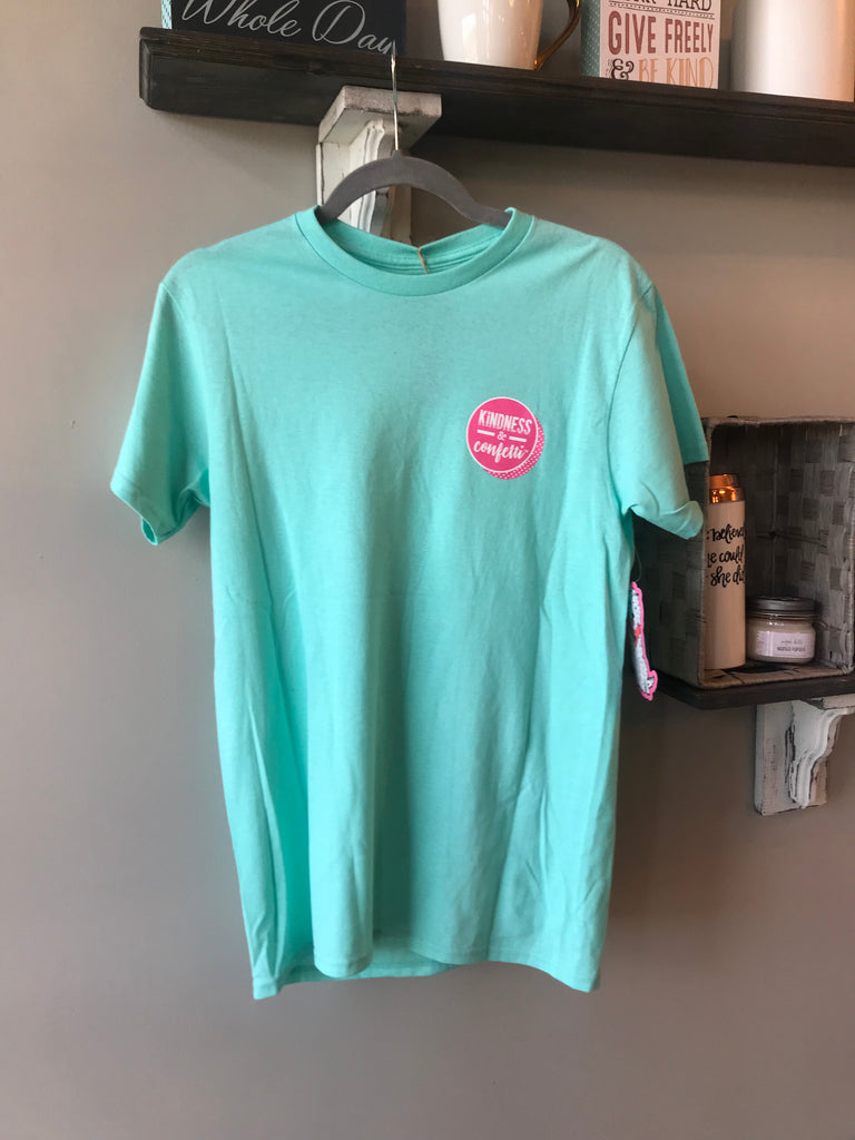 Kindness and Confetti Shirts