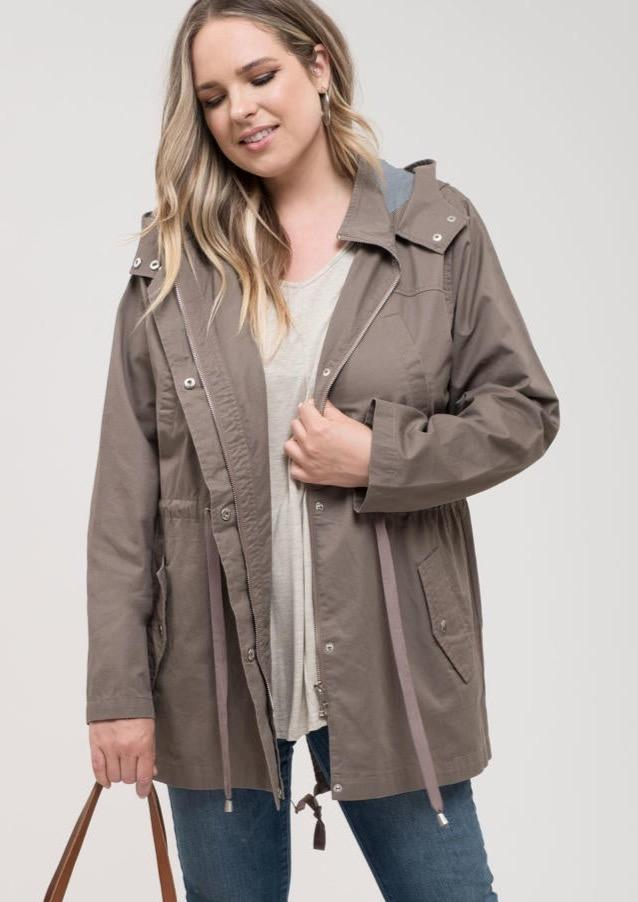 Stay Warm Hooded Utility Jacket
