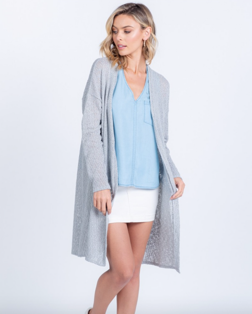 With You In Mind Knit Cardigan