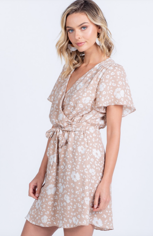 Sweet And Sassy Wrap Dress