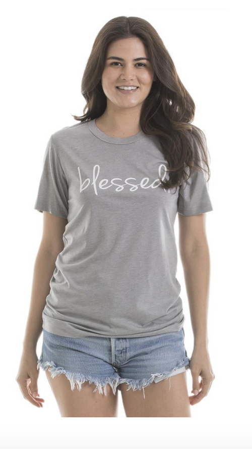 """Blessed"" Graphic T-shirt"