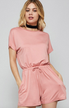 Final Rose Short Sleeve Romper