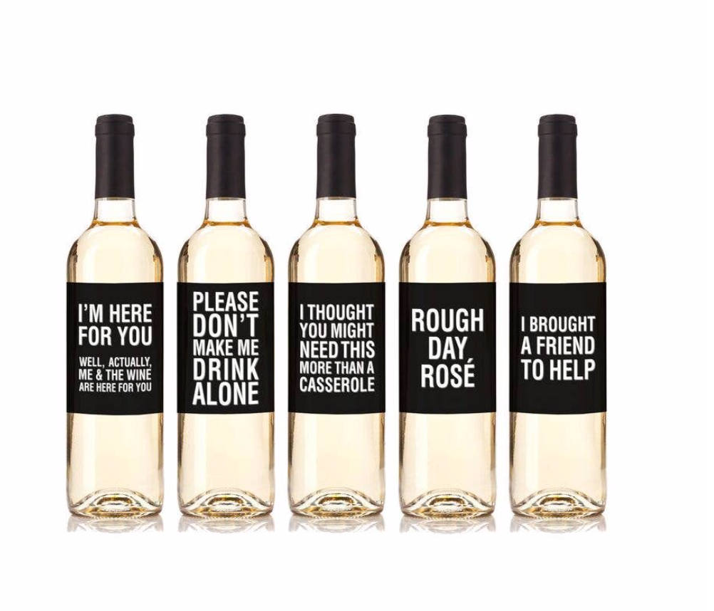 """Real Life"" Wine Labels"