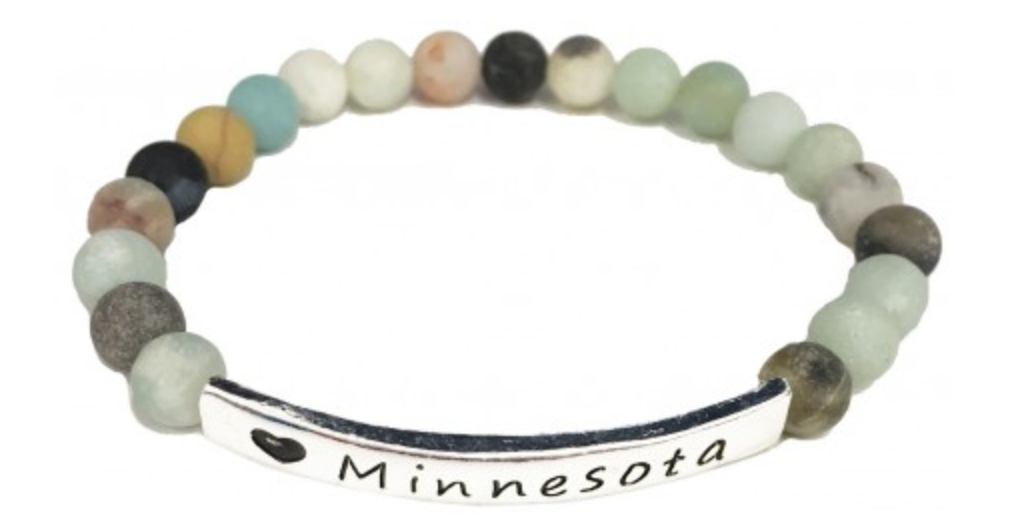 """Minnesota"" Beaded Bracelet"